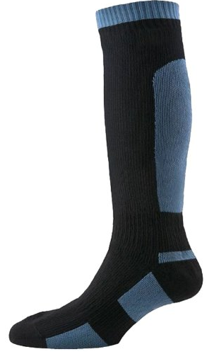 SealSkinz Men's Mid Weight knee high socks